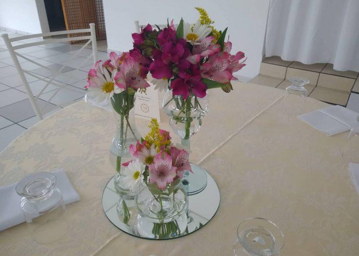 Arranjo mesa convidado